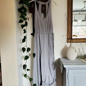 Free People Beach Jersey Knit Jumpsuit M